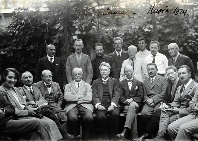 The League of Nations Malaria Commission, 1928.