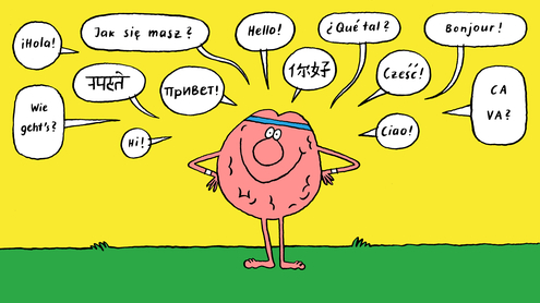 Bilingual brains