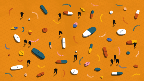 This is why a third of antidepressants are prescribed for something